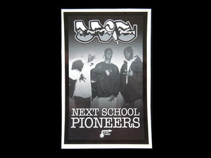 Different Shades of Black ‎– Next School Pioneers LP Sticker