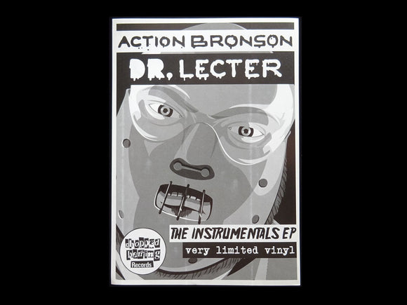 Action Bronson ‎– Dr. Lecter Instrumentals EP Sticker