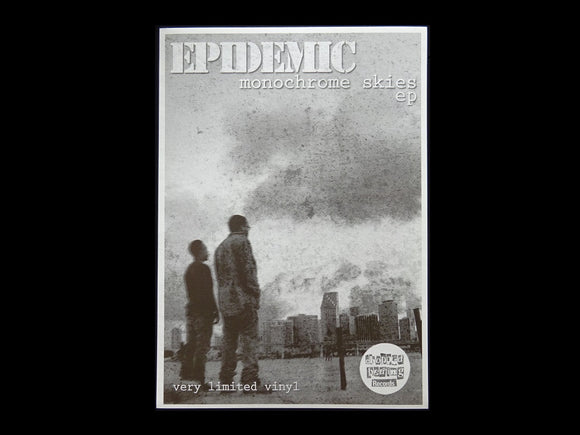 Epidemic ‎– Monochrome Skies EP Sticker