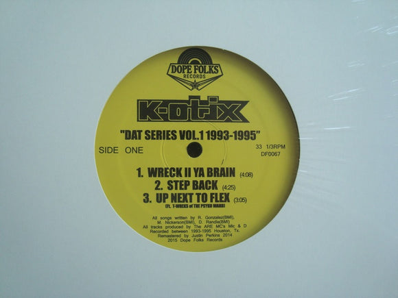 K-Otix ‎– Dat Series Vol.1 1993-1995 (EP)