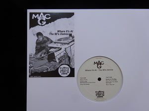 Mac G ‎– Where It's At - The 90's Demos (EP)