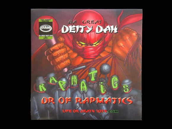 Da Great Deity Dah ‎– Dr Of Rapmatics LP Sticker
