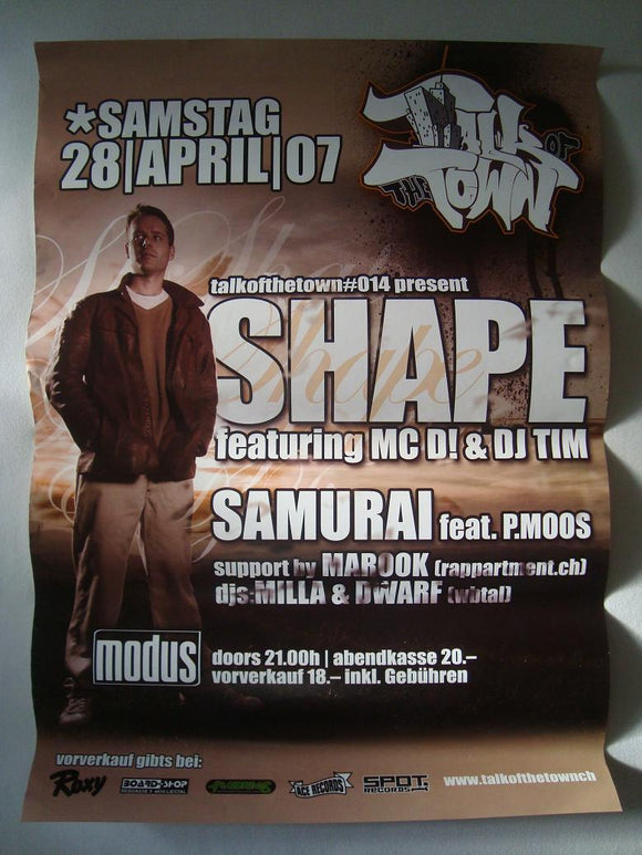 Shape Show Poster