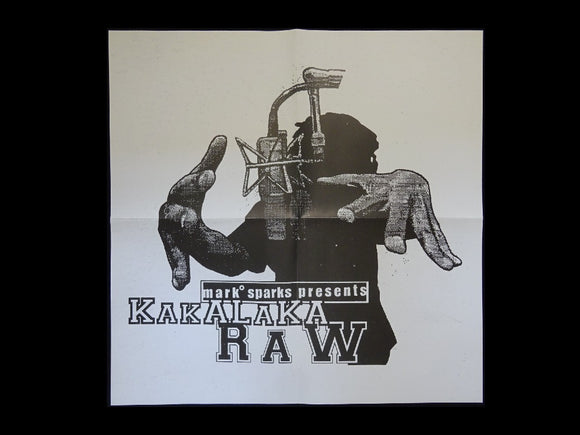 Mark Sparks pres. Kakalaka Raw LP Poster