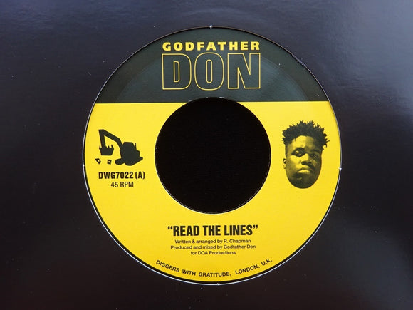 Godfather Don ‎– Read The Lines / Hazardous (7
