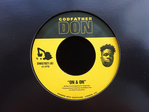 "Godfather Don ‎– On & On / Involuntary Excellence (7"")"
