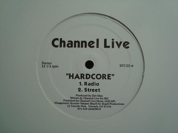 Channel Live ‎– Hardcore  (12