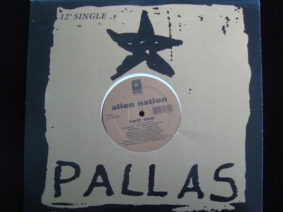 Alien Nation ‎– Tell Me / Electric Lady (12
