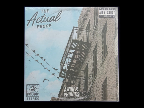 Awon & Phoniks ‎– The Actual Proof (LP)