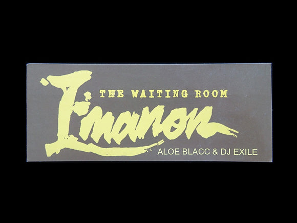 Emanon – The Waiting Room Sticker