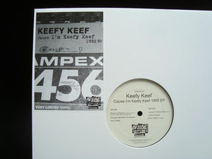 Keefy Keef ‎– Cause I'm Keefy Keef 1992 (EP)
