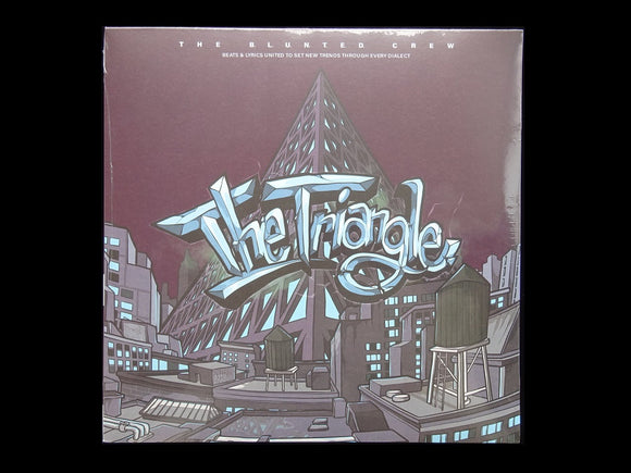 The B.L.U.N.T.E.D. Crew ‎– The Triangle (2LP)