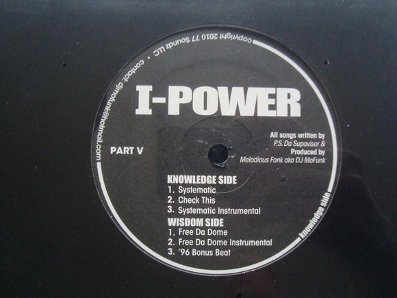 I-Power ‎– Systematic (EP)