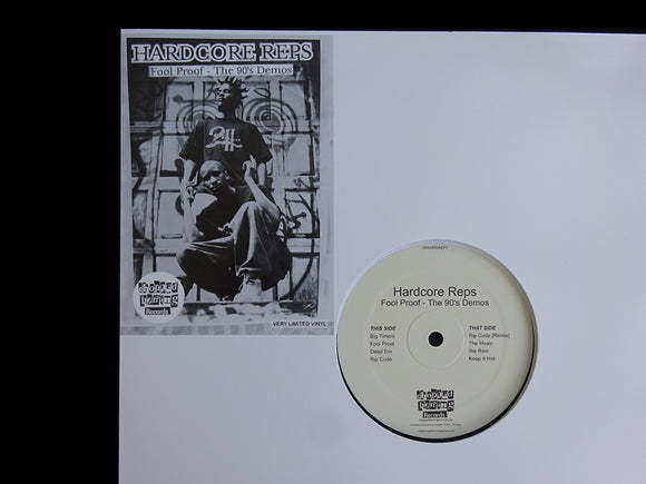Hardcore Reps ‎– Fool Proof - The 90's Demos (LP)