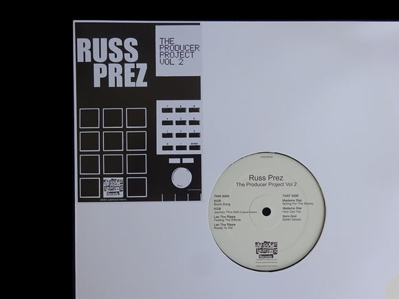 Russ Prez ‎– The Producer Project Vol.2 (EP)