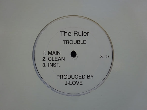 The Ruler / Ironman & Theodore ‎– Trouble / Late Night Arrival (12