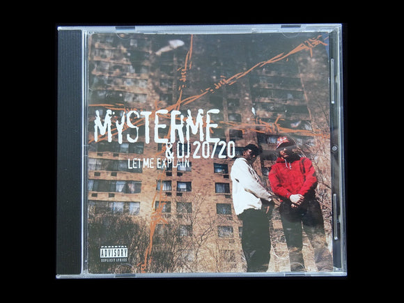 Mysterme & DJ 20/20 ‎– Let Me Explain (CD)