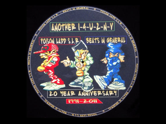 Poison Ladd S.L.R. / Beats In General ‎– Still Another 1-4-U-2-N-V Slipmat
