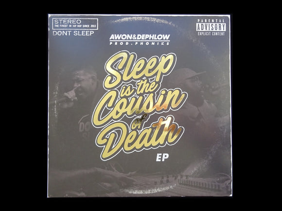 Awon & Dephlow ‎– Sleep Is The Cousin Of Death (LP)