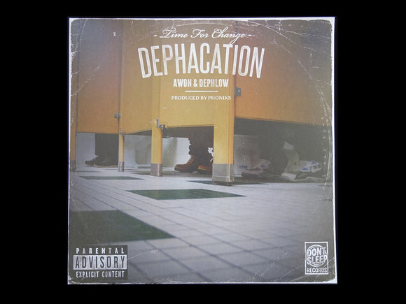 Awon & Dephlow ‎– Dephacation: Time For Change (LP)