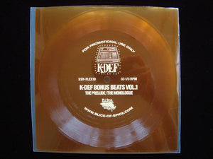 "K-Def ‎– K-Def Bonus Beats Vol.1 (7"" Flexi)"