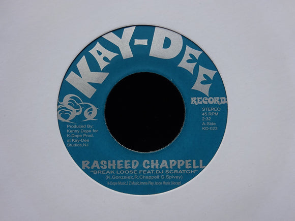 Rasheed Chappell ‎– Break Loose (7