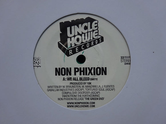 Non Phixion ‎– We All Bleed (7