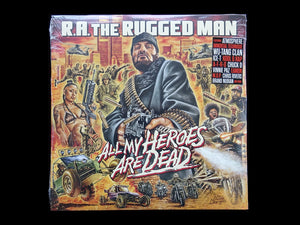 R.A. The Rugged Man ‎– All My Heroes Are Dead (3LP)