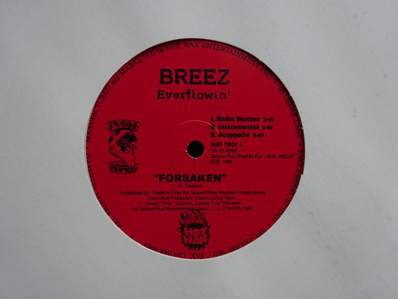 Breez Everflowin' ‎– Forsaken / Dip...Dip (12