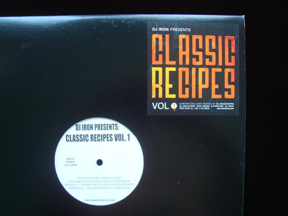 DJ Iron – Classic Recipes Vol.1 (2LP)