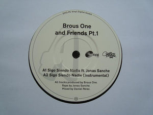 "Brous One ‎– Brous One & Friends Pt.1 (7"")"