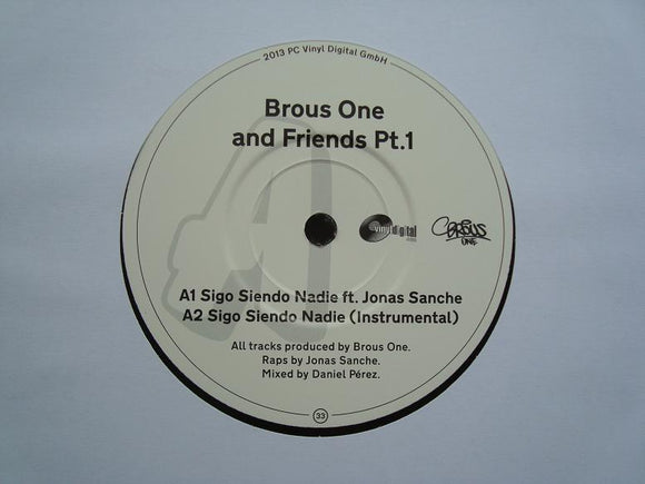 Brous One ‎– Brous One & Friends Pt.1 (7