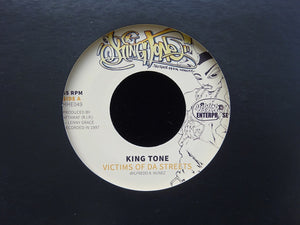 "King Tone – Victims Of Da Streets (7"")"