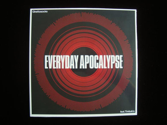 Ghettosocks ‎– Everyday Apocalypse / I'll Be Your Dog (7