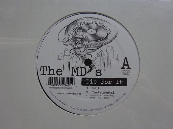 The MD's (Mental Dimension) ‎– Die For It / Degree (12