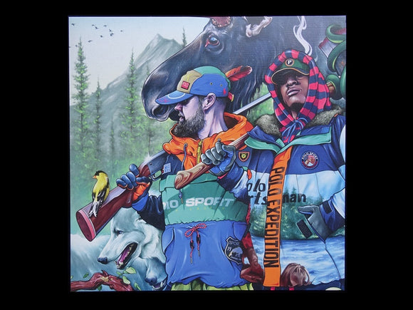 Raz Fresco & Futurewave ‎– Gorgeous Polo Sportsmen (LP)