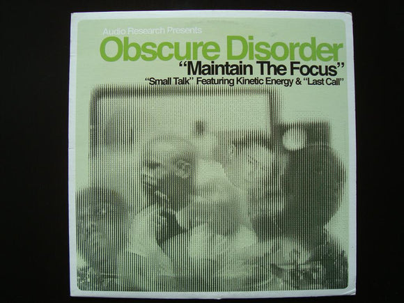 Obscure Disorder – Maintain The Focus (12