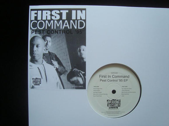 First In Command‎ – Pest Control '95 (EP)