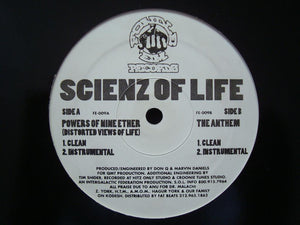 "Scienz Of Life - Powers Of Nine Ether / The Anthem (12"")"