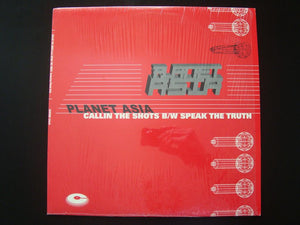 "Planet Asia - Callin The Shots / Speak The Truth (12"")"