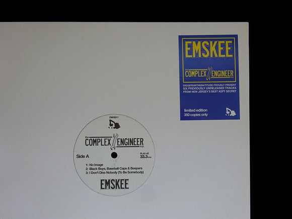 Emskee ‎– The Complex Engineer E.P. (EP)