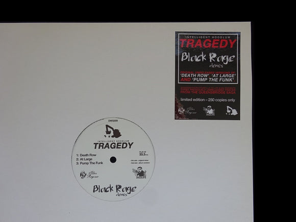 Intelligent Hoodlum ‎– Tragedy - Black Rage Demos (EP)