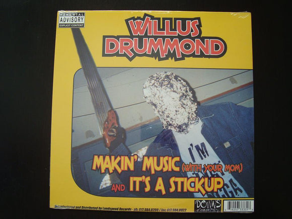 Willus Drummond / Esau - Makin' Music / 2 Many Emcees (12