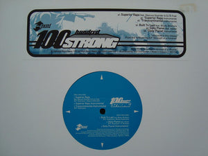 "Hundred Strong - Superior Raps (12"")"