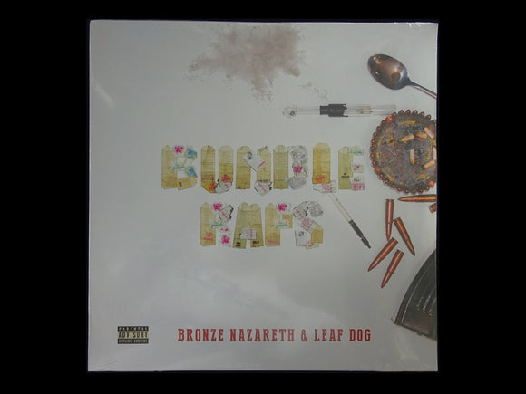 Bronze Nazareth & Leaf Dog – Bundle Raps (2LP)