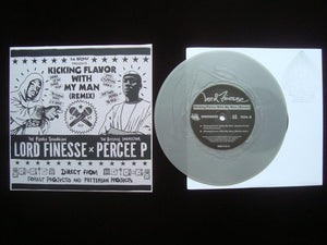 "Lord Finesse x Percee P ‎– Kicking Flavor With My Man (Rmx) (7"")"