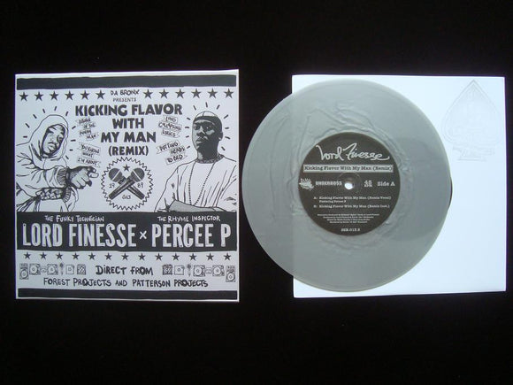 Lord Finesse x Percee P ‎– Kicking Flavor With My Man (Rmx) (7