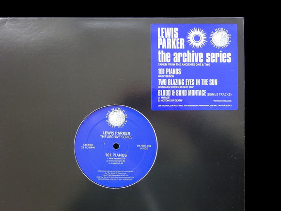 Lewis Parker ‎– 101 Piano's (The Archive Series) (12