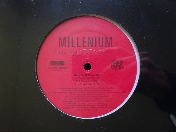 Millenium ‎– How Far Will You Go (12