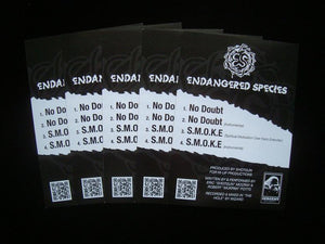 "Endangered Species ‎– No Doubt / S.M.O.K.E. 12"" Stickers"